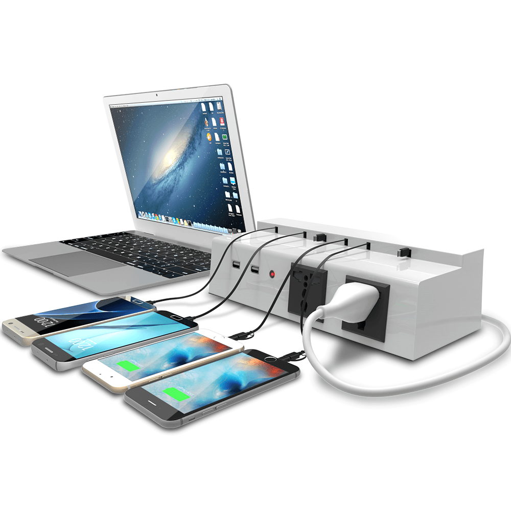 Wall Mounted Cell Phone Charging Station My Web Value