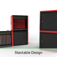 ChargeAll-iPad-Locker-Stackable