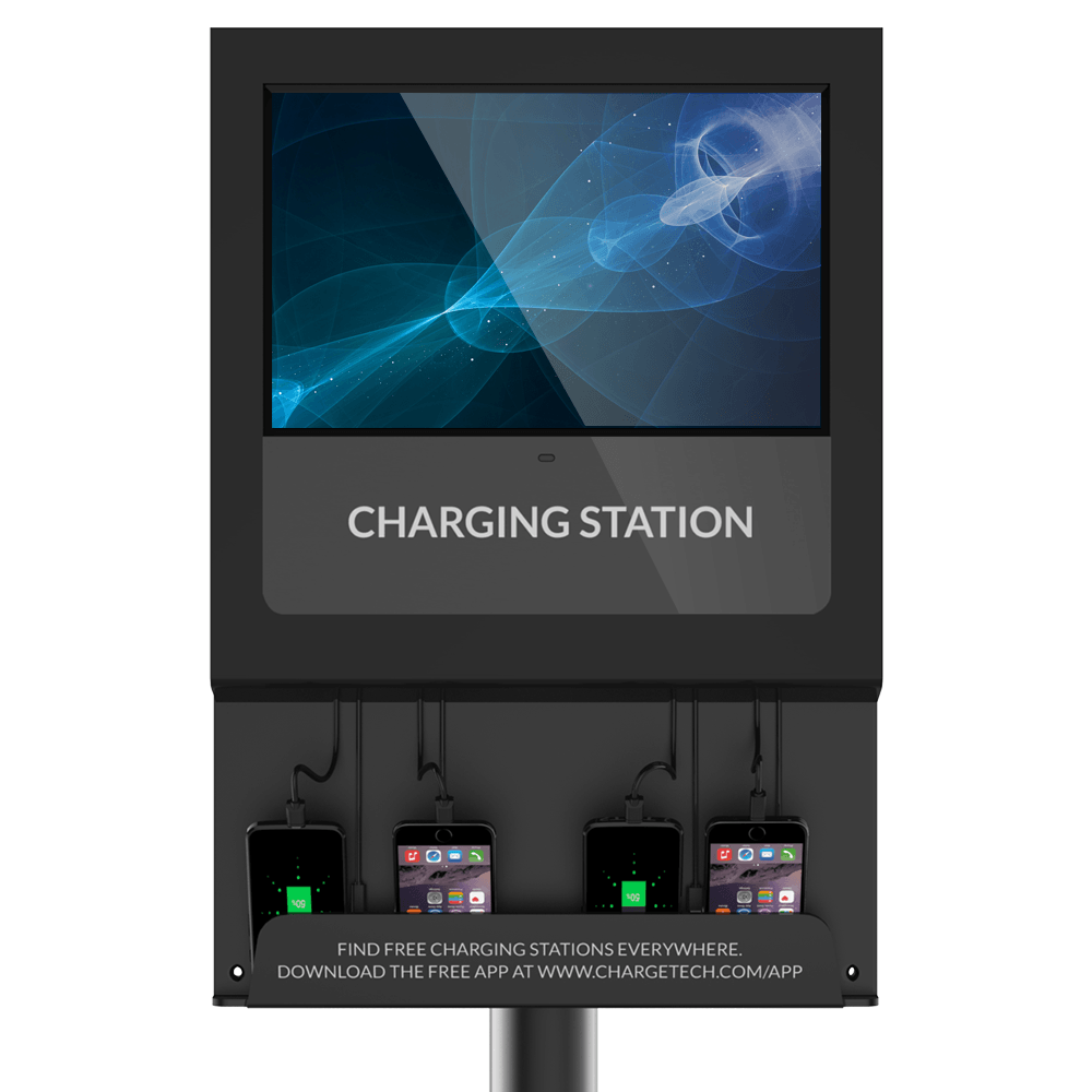Digital Signage Charging Station Chargetech
