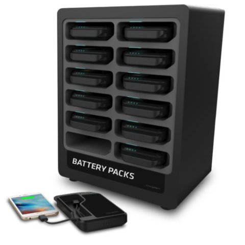 ChargeTech's Portable Battery Dock Charging Station 12